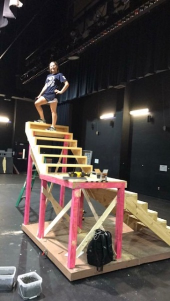 Set Building for Noises Off